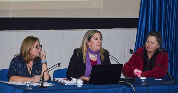 "EMU-CWS Hosts Panel Titled ""War, Conflict and Gender Based Violence"""
